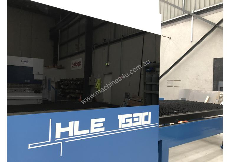 ** In stock **  Book a demo now. NEW Yawei 2kW HLE-1530 Fiber Laser with IPG, Beckhoff CNC & Drives