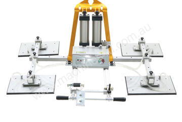 Pneumatic Vacuum Lifter AVLP4-1000kg for Smooth Granite and Marble and Glass. Lifts & tilts 90