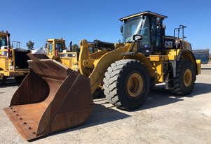 2014 Caterpillar 972K Wheel Loader