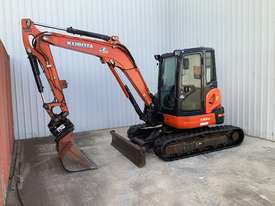 Kubota U55-4 Excavator - picture0' - Click to enlarge