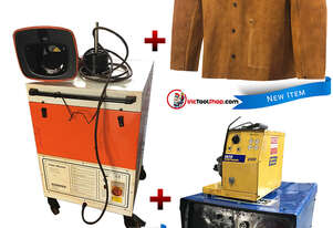 Weldmatic WIA MIG Welder, Kemper Exhaust Fan & Welders Coat
