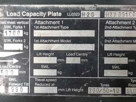 Used Forklift:  H20D Genuine Preowned Linde 2t - picture2' - Click to enlarge