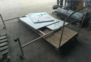 Custom Made Trolley And White Boards