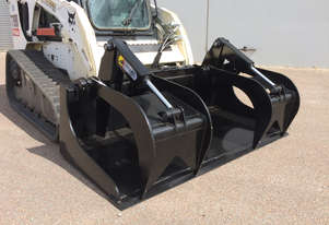 Himac Skid Steer Demolition Grapple