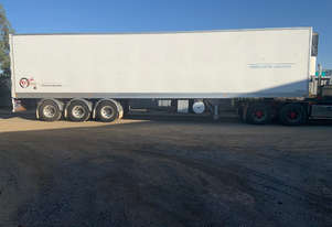 TCA Semi Refrigerated Van Trailer