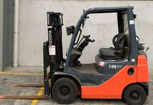 Toyota  8FG18 forklift in good condition