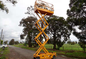 Haulotte Compact 8 Scissor Lift Access & Height Safety