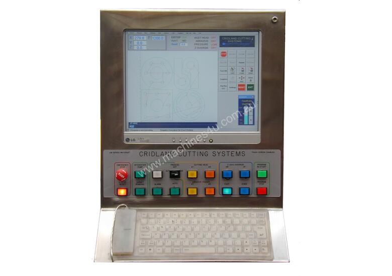 WATERJET CUTTING CNC PROFILE CONTROLLER