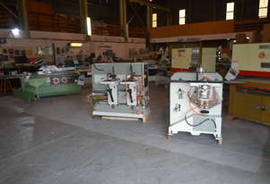 Pade Round end tenoner & mortiser