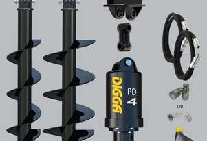Digga PD4-5 auger drive combo package mini excavator up to 5.5T