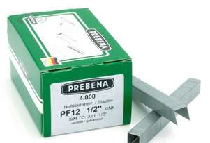 Prebena PF12CNK Staples galvanized