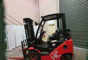 2013 Hangcha XF18L Forklift - As New!