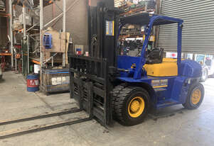 7 Tonne Forklift With Low Hours For Sale!