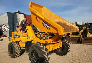 2019 Thwaites 6t swivel dumper with low 360 hours