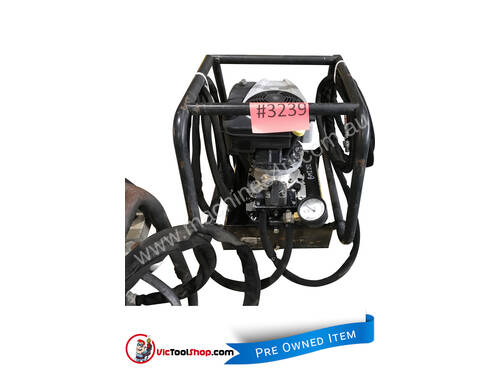 Enerpac Two-Speed, Gasoline Hydraulic Pump, 4/3 Manual Valve, 20 litres Usable Oil, 4,8 kW Briggs &