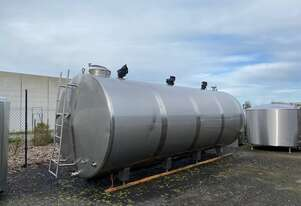 20,000ltr Jacketed Food Grade Tank