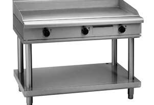 Waldorf 800 Series GPL8120E-LS - 1200mm Electric Griddle Low Back Version - Leg Stand