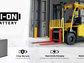 J2.5UT 2500kg Lithium Electric Forklift - picture1' - Click to enlarge