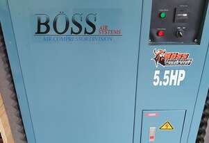 BQT30P (5.5Hp) Boss Silent Air Compressor with Vertical Air Receiver and Donaldson Clean Air System