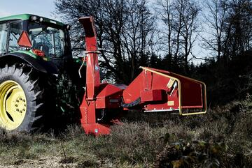TP 200 PTO TOP QUALITY WOODCHIPPER FROM DENMARK!