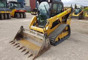 USED 2017 CAT 249D TRACK LOADER WITH FULL SPEC AND 985 HOURS