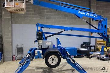 03/2013 Genie TZ 34/20 - Trailer Mounted Boom