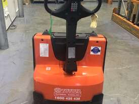 Toyota BT Electric Pallet Jack  - picture0' - Click to enlarge