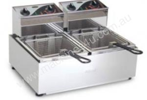 Fryer- Roband F28 Double Pan Fryer- 2x8 Litre Tank