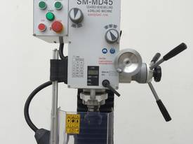 SM-MD45, Geared Head, Dovetail Guides, DRO - picture5' - Click to enlarge