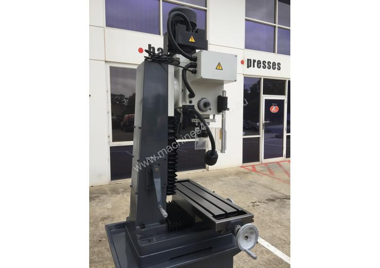 SM-MD45, Geared Head Mill Drill, Dovetail Guides, LED Worklight