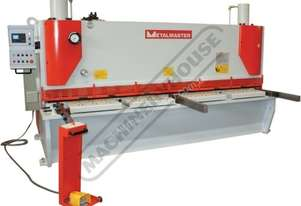 HG-3208VR Hydraulic NC Guillotine - Variable Rake 3200 x 8mm Mild Steel Shearing Capacity 1-Axis Ezy