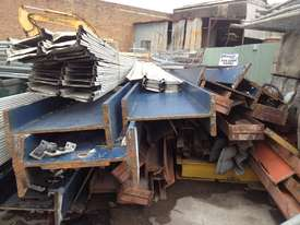 STEEL BEAMS, COLUMNS, RSJ, UB, CHANNEL, FOR SALE  - picture0' - Click to enlarge