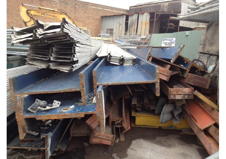 STEEL BEAMS, COLUMNS, RSJ, UB, CHANNEL, FOR SALE