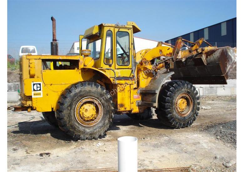 Cat 966C Wheel Loader