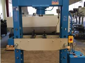 Hydraulic Motor Driven H Frame Press, 100 Tonne - picture0' - Click to enlarge