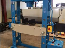 Hydraulic Motor Driven H Frame Press, 100 Tonne - picture2' - Click to enlarge