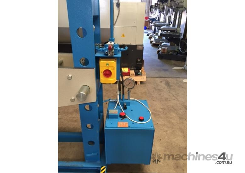Hydraulic Motor Driven H Frame Press, 100 Tonne