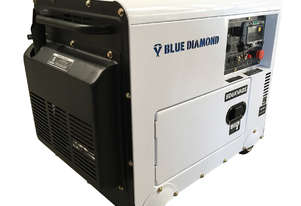 Generator Diesel 6KVA 240V Silenced Mine Spec - 2 Years Warranty