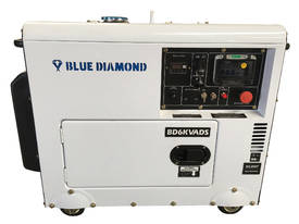 Generator Diesel 6KVA 240V Silenced Mine Spec  - picture0' - Click to enlarge