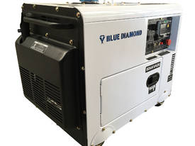 Generator Diesel 6KVA 240V Silenced Mine Spec  - picture2' - Click to enlarge