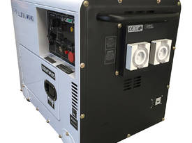 Generator Diesel 6KVA 240V Silenced Mine Spec  - picture3' - Click to enlarge