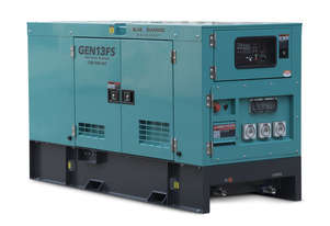 13 kVA Diesel Generator 240V Solar Backup - 2 Years Warranty