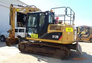 2012 CAT 312D 12 Tonne Tonne Excavator for hire