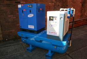 7.5hp / 5.5kW Screw Air Compressor Package