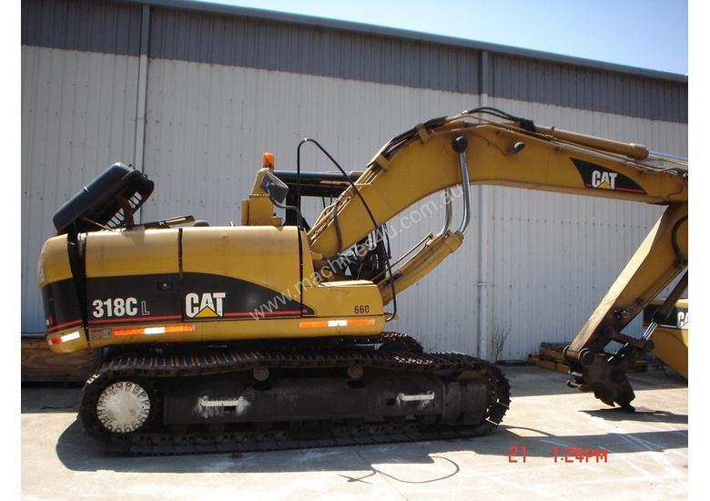 CATERPILLAR 318CL EXCAVATOR *WRECKING*
