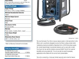 Cutmaster True Series 25mm Plasma Cutter - picture2' - Click to enlarge