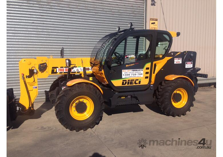 DIECI heavy capacity 70.10 FOR HIRE