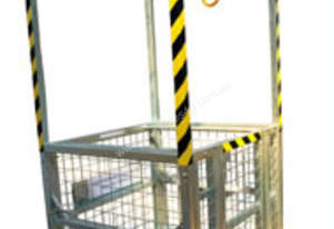 Crane Work Platform Cage 4 Man (with Roof)