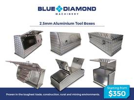 Aluminium 2.5mm Tool Boxes � 1210mm - 1770mm  - picture0' - Click to enlarge