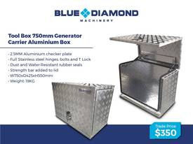 Aluminium 2.5mm Tool Boxes � 1210mm - 1770mm  - picture2' - Click to enlarge